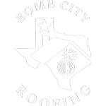 Bomb City Roofing Logo Amarillo Texas